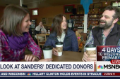 Meet Bernie Sanders' Dedicated Donors