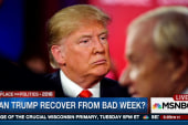 Can Trump recover from a bad week?