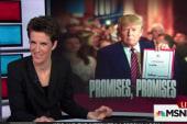 Trump's pledge renege could cost him bigly