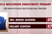 Clinton and Sanders run tight Wisconsin race