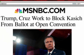 Trump, Cruz seek to block Kasich from ballot