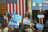 Protests interrupt Bill Clinton in PA