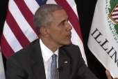 Obama answers question on drone deaths
