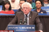 Sanders backtracking qualification comments