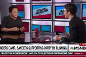 Sanders not yet spreading campaign wealth