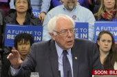 Sanders questions Clinton's judgment
