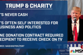 New questions over Trump's charitable...