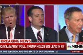 NBC Poll: Trump, Clinton Maintain New York...