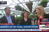 Young NY voters on casting their votes