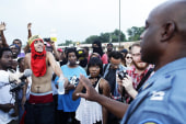 LIVE VIDEO: Day 10 of Ferguson protests