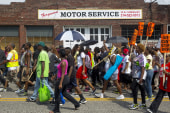 LIVE VIDEO: Michael Brown highway protest