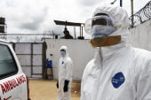 CDC confirms first Ebola case diagnosed in US
