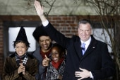 De Blasio's first message to NYC as mayor