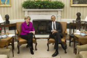 Obama & Merkel hold press conference