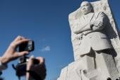 LIVE VIDEO: MLK Memorial naturalization...