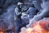 At least nine dead in Kiev clashes