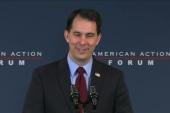 Gov. Walker at American Action Forum