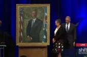 Obama unveils Holder portrait