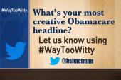 Tweet your creative healthcare headline