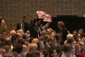 Protestors interrupt Rubio at Kemp Forum