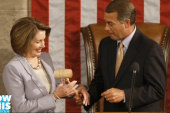 Pelosi and Boehner: Political pals?