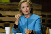 LIVE: Hillary leads NH education roundtable