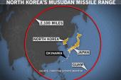 Medium-range test missile could strike...