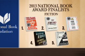 National Book Award finalists revealed