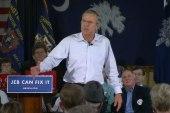 Bush jabs Clinton for VA comments