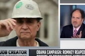 Obama campaign hits Romney over record at...