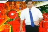 Anchors forced to evacuate on air as...