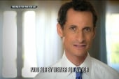 Weiner airs new ad in effort to fix...
