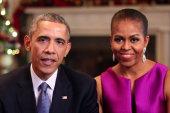 The Obamas share their Christmas message