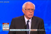 Bernie Sanders apologizes to Hillary Clinton