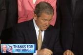 Bush tax cuts cost the US $2.6 trillion