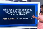 Who has a better chance: Trump or Clinton?