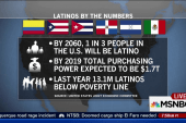 Report: By 2060, 1 in 3 people in US will...