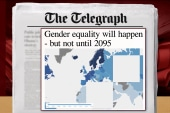 Gender equality will come, but not until 2095