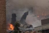 F-18 fighter jet crashes in Virginia Beach