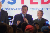 Watch Cruz's NH primary speech