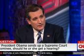 Cruz: Scalia's passing leaves void in SCOTUS