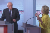 Sanders, Clinton spar over campaign funds,...
