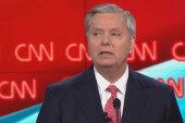Graham references 'Princess Bride' at debate