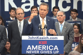Kasich on exceeding expectations