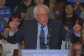 Sanders blasts billionaires 'buying...