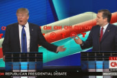 Trump and Cruz at odds over polling
