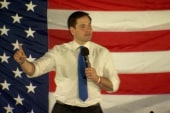 Marco Rubio rallies supporters in Florida