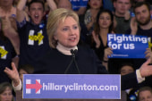 Watch Hillary Clinton's concession speech...