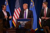 Trump: 'We're winning, winning, winning'