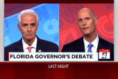 Governor's debate takes nasty turn